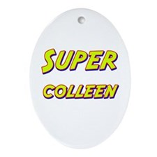 Super colleen Oval Ornament