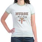 Med Surg Nurse Jr. Ringer T-Shirt