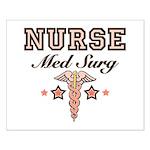 Med Surg Nurse Small Poster