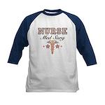 Med Surg Nurse Kids Baseball Jersey