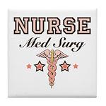 Med Surg Nurse Tile Coaster