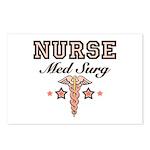 Med Surg Nurse Postcards (Package of 8)