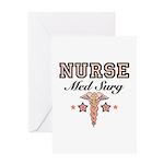 Med Surg Nurse Greeting Card