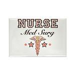 Med Surg Nurse Rectangle Magnet (100 pack)
