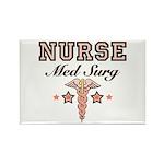 Med Surg Nurse Rectangle Magnet (10 pack)