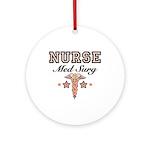 Med Surg Nurse Ornament (Round)