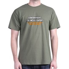 'Government Financial Expert' T-Shirt