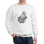 English Trumpeter Dun Splash Sweatshirt