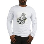 English Trumpeter Dun Splash Long Sleeve T-Shirt