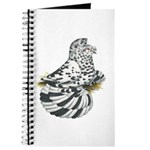 English Trumpeter Dun Splash Journal