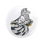 "English Trumpeter Dun Splash 3.5"" Button"