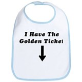I Have the Golden Ticket Bib