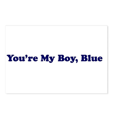 You're My Boy Blue Postcards (Package of 8)