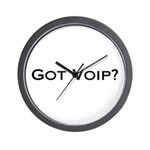 Got VOIP? Wall Clock