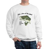 Lake Keowee SC bass Sweatshirt