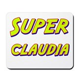 Super claudia Mousepad