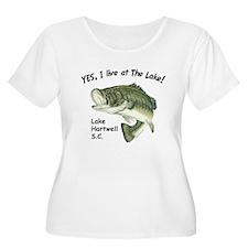 Lake Hartwell SC bass T-Shirt