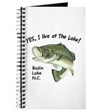 Badin Lake NC bass Journal