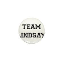 Team Lindsay Mini Button (10 pack)