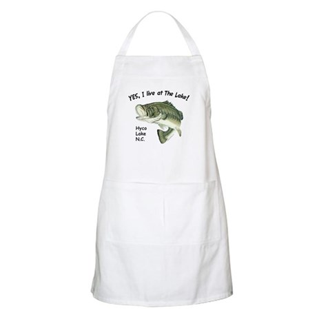 Hyco lake NC bass BBQ Apron