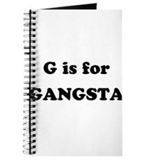 G is for Gangsta Journal