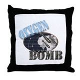 OxygenBomb.com Throw Pillow