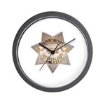 Stanislaus County Sheriff Wall Clock