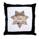 Stanislaus County Sheriff Throw Pillow