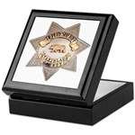 Stanislaus County Sheriff Keepsake Box