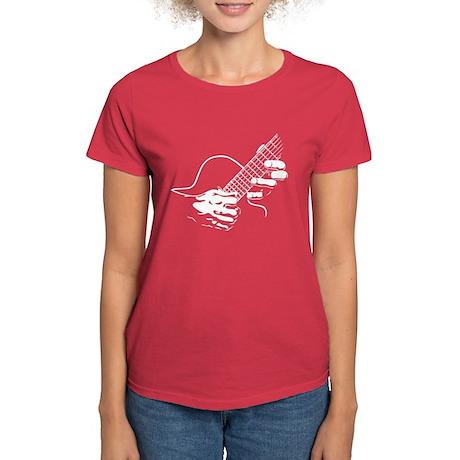 Guitar Hands II Women's Dark T-Shirt