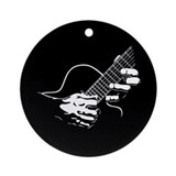 Guitar Hands II Ornament (Round)
