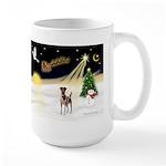Night Flight/Fox Terrier Large Mug