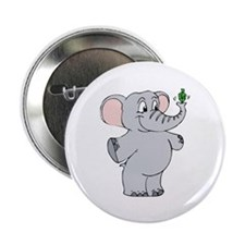 "Elephant & Dreidel 2.25"" Button (100 pack)"