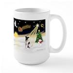 Night Flight/Fox Ter #1 Large Mug