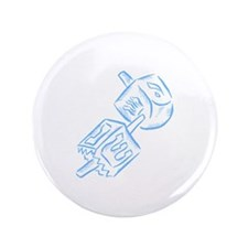 "Dreidels 3.5"" Button (100 pack)"