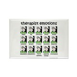 therapist emotions Rectangle Magnet (100 pack)
