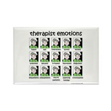 therapist emotions Rectangle Magnet (10 pack)