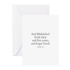 GENESIS  5:15 Greeting Cards (Pk of 10)
