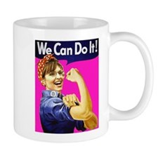 We Can Do It! - Pink Mug