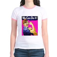 We Can Do It! - Pink T