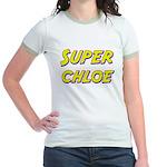 Super chloe Jr. Ringer T-Shirt