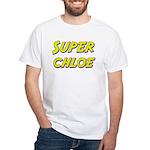 Super chloe White T-Shirt