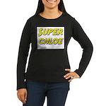 Super chloe Women's Long Sleeve Dark T-Shirt