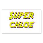 Super chloe Rectangle Sticker