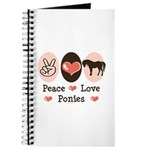 Peace Love Ponies Journal