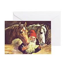 Unique Glaedelig jul Greeting Card