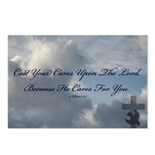 Cast Your Cares Postcards (Package of 8)