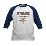 Pediatrics Nurse Kids Baseball Jersey