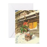 Cute Glaedelig jul Greeting Cards (Pk of 10)