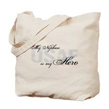 Nephew is my Hero USAF Tote Bag